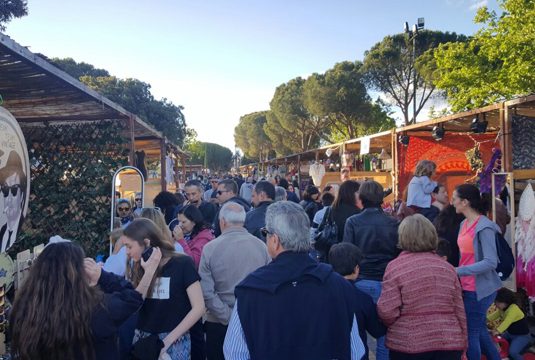 street market experience